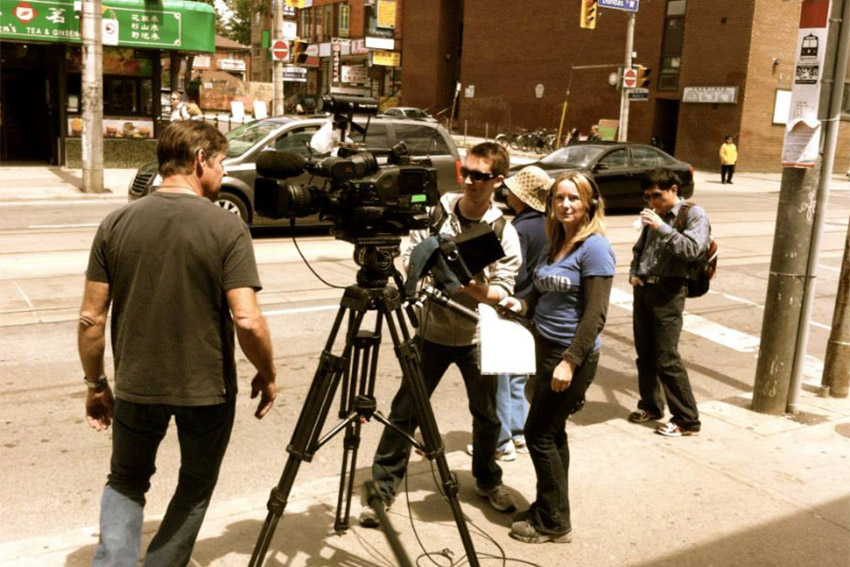 Documentary filming, Toronto, Chinatown, Discovery Channel